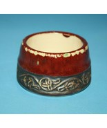 """Pier 1 Shanghai Tea Cup Replacement Pot Dish Red Asian Earthenware 2"""" Po... - $9.72"""