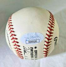 YOGI BERRA / MLB HALL OF FAME / AUTOGRAPHED OFFICIAL N.L. BASEBALL / JSA COA image 5