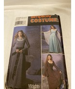 Renaissance Dress Simplicity Costume Sewing Pattern #9891 Size 6-12 Cosplay - $7.99