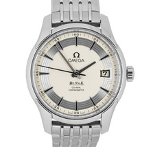 MINT Omega DeVille Hour Vision Co-Axial 41mm Stainless Watch 431.30.41.2... - $3,993.93