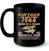 Vintage Made In 1944 74th Birthday Gift Gift Coffee Mug - $13.99+