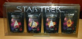 Star Trek Classic Images Sampler Pack of 4 Gourmet Coffee 1998 SEALED UN... - $24.18