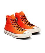 Converse Mens Chuck 70 Hi Gore-Tex Canvas 162351C Bold Mandarin/Egret/Br... - $69.60