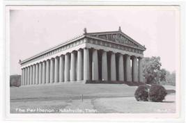 The Parthenon Nashville Tennessee 1950s RPPC Real Photo postcard - $6.93