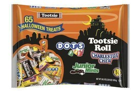 Halloween Candy Tootsie Roll Variety Pack 65 Count, 35.6 Ounces - $24.24