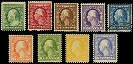 374-82, Mint/Used Set of 9 Stamps Cat $625.00 - Stuart Katz - $350.00