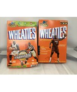 Lot 2 Wheaties Boxes Sealed Shaquille O'Niel Dwayne Wade Miami Heat 2005... - $14.95