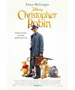 Christopher Robin - original DS movie poster 27x40 FINAL Winnie the Pooh - $30.00