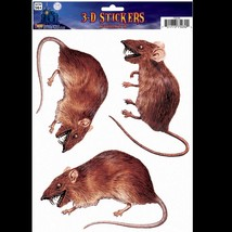 Scary Dimensional 3D-RAT RODENT-Window Sticker ... - $7.86
