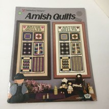 Amish Quilts Cross Stitch Pattern Book Canterbury Designs - $9.74