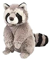 Plush raccoon toy stuffed animal - $13.95