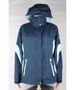 Columbia omni tech hoodie womens raining Winter jacket blue size S - $29.97