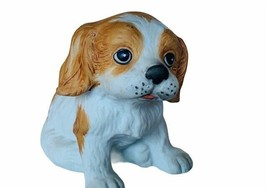 Retriever spotted lab Figurine vtg miniature puppy dog gift decor Homco ... - $17.77