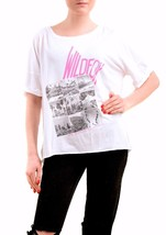 Wildfox Womens Short Sleeve Wildfox CA Top Clean White Size S - $44.51