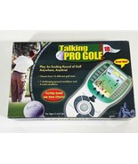 Talking Pro Golf Game Handheld Electronic By Excalibur (SEE PHOTOS) - $8.91