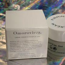 NIB OMOROVICZA Firming Neck Cream 5mL Travel Sz Nwt Nib NEW LAUNCH image 4