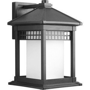 Primary image for Progress Lighting P6002-31 Craftsman/Mission One Light Wall Lantern from Merit C