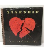 "Starship It's Not Enough 45 rpm 7"" Vinyl Record RCA 1989 Love Among The ... - $10.38"