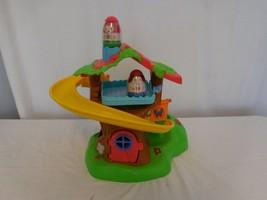 Weebles Musical Treehouse Slide Playset Weeble Wobble + Weebles Hasbro Playskool - $36.65
