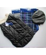 Pet Winter Coat/Jacket,  Hat, & 2X Bandanna  Multi-Color Sz Medium NWT Set - $18.80