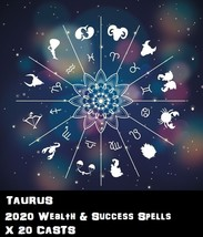 Taurus Star Sign 20 X Wealth Spells Cast Voodoo Pin Point Exact Work - $30.00