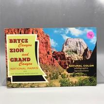Vintage Bryce Canyon Utah Photographic Souvenir Book - $5.93