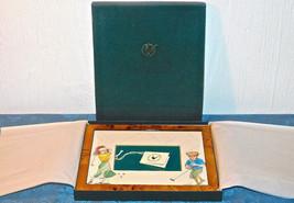 Bryn Parry Studios England Bilderrahmen Playing Golf Mann Damen Neu Im Box - $113.42