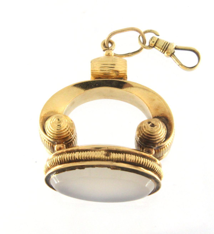 Fob charm Women's 14kt Yellow Gold Pendant