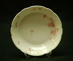 Antique Haviland Limoges France 7-1/4 Soup Cereal Bowl Pink Cornflower S... - $14.84
