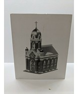 DEPT 56 HOLY NAME CHURCH  CHRISTMAS IN CITY SERIES 588751 SNOW HERITAGE ... - $64.35