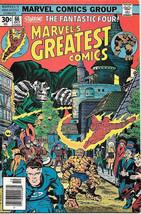 Marvel's Greatest Comics Comic Book #66 Fantastic Four 1976 VERY FINE - $4.50