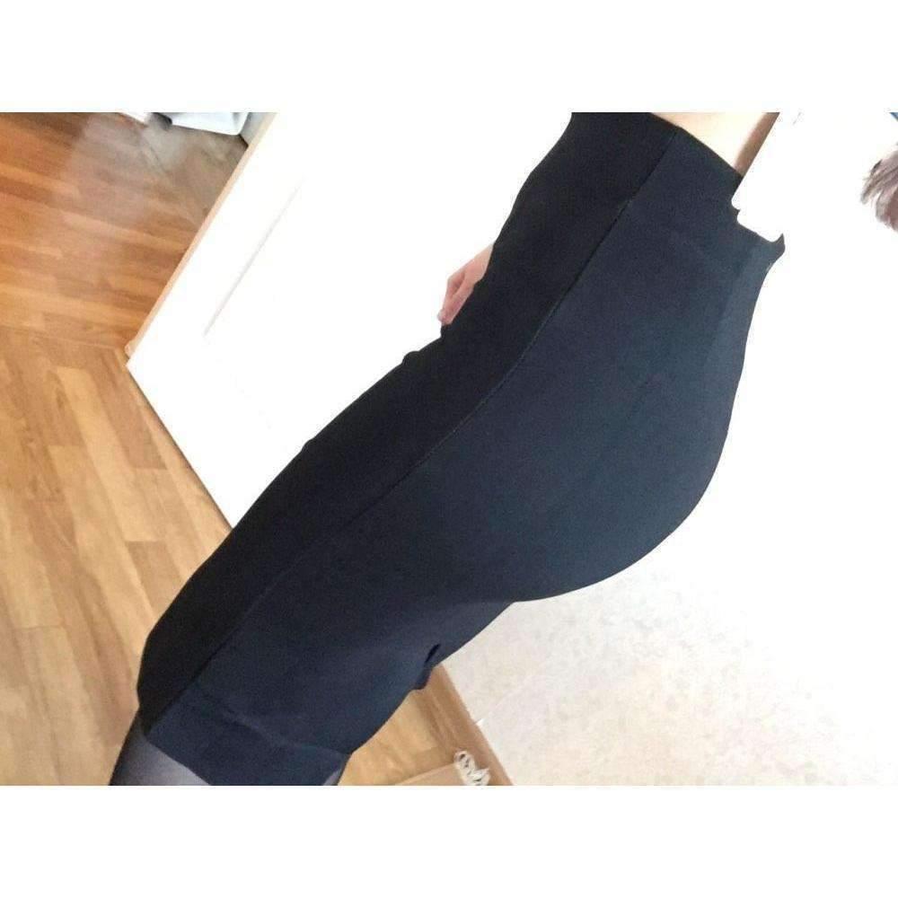 Fitted High Waist Elegant Women Knee Length Skirt