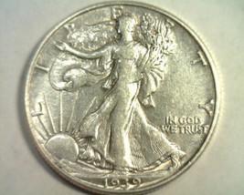 1939-D WALKING LIBERTY HALF ABOUT UNCIRCULATED AU NICE ORIGINAL COIN BOB... - $27.00