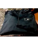 New Philadelphia Flyers 3x Xxx 1/4 Zip Pullover w Pockets - Nice Materia... - $22.99