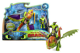 How To Train Your Dragon The Hidden World: Eret & Skullcrusher Mint in Box - $32.88