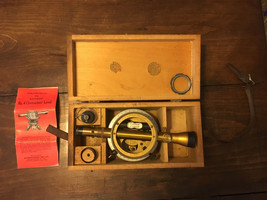 Vintage Bostrom-Brady Model 4 Surveyors Transit & storage box Serial # 72 - $74.95