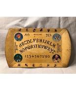 Vintage c1940s Hasko Haskelite Mystic Tray Paper-Wood Board Ouija - $98.99