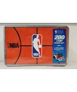 NEW SEALED NBA 200 Chip Poker Set + 2 NBA Decks in Tin - $27.69