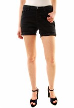 One Teaspoon Women's New Fox Black Chargers Shorts Black Size 25 RRP$116... - $81.17