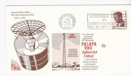 PALAPA ONE INDONESIAN COMSAT LAUNCH KSC, FL JULY 8 1976 SPACE VOYAGE - $1.78