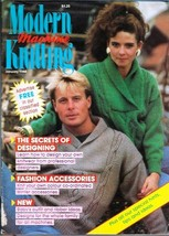 Modern Machine Knitting Jan 1988 Magazine Snowflake Sweater, Cabled Swea... - $5.69
