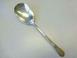 ADORATION 1847 Rogers CASSEROLE SPOON IS International Silverplate 1930 ... - $19.79