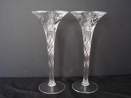 Stunning JG Durand, Crystal d' Arques Candle Holders, with Barley Twist ... - $41.00