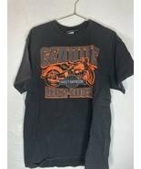 Vintage Harley Davidson Mens Uke's TShirt Black Sz Large Wisconsin - $32.71