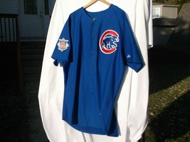 CHICAGO CUBS MLB NL NO 7 MAJESTIC SZ 52 PERSONALIZD LUKAN BASEBALL JERSE... - $43.99