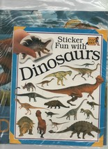 Sticker Fun with Dinosaurs - The News About Dinosaurs - 2 Book Pack - SC... - $7.19
