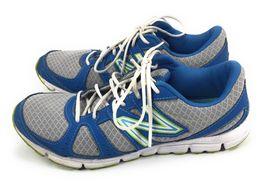 New Balance 550 v3 WE550BG3 Blue Lime Green Running Shoes Women's 9.5 B image 4