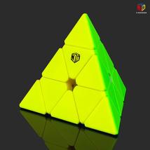 Qiyi X-man Bell V2 magnetic Pyramid cube 3x3x3 magic cube XMD 3x3 speed puzzle c - $27.15