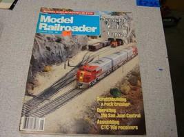 Model Railroader magazine August 1984 - $5.94