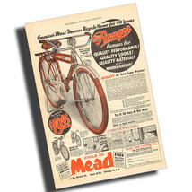 1936 Ranger Ace Bicycle Magazine Ad Reproduction 8x12 Inch Aluminum Sign - $14.80